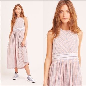 Free People Dresses - Free People Color Theory Midi Dress—L